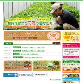 葛飾区 元気野菜ホームページ